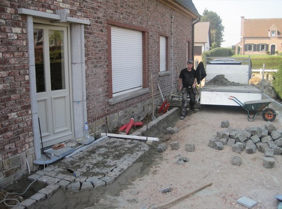 Green project verhardingen - Lay outs terras fotos ...